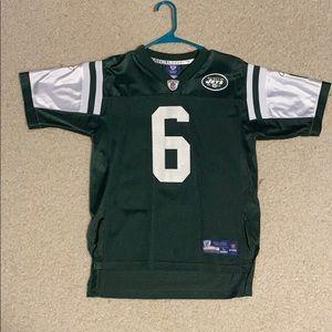 Used NFL Jets Mark Sanchez Jersey size boys large